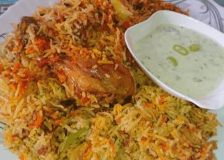 enjoy spicy delicious food