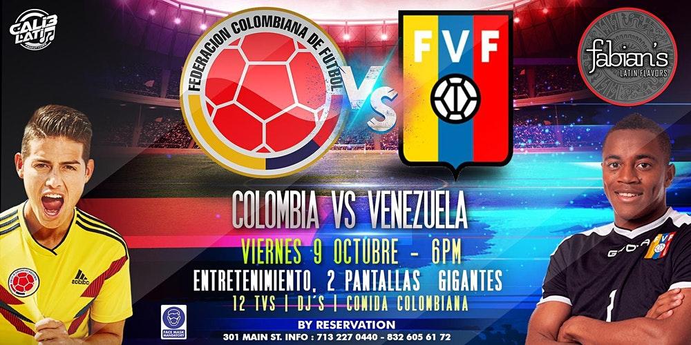 Colombia vs Venezuela free stream live reddit