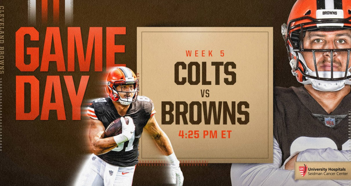 Colts vs Browns