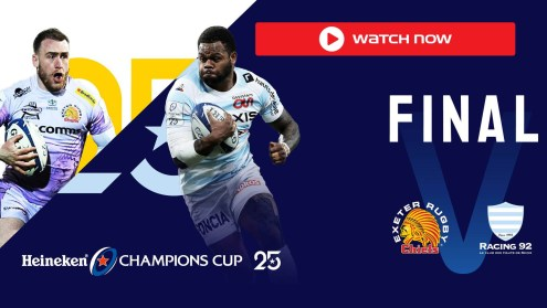 Exeter vs Racing 92
