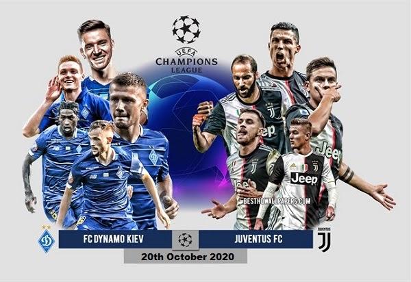 Juventus vs Dynamo Kiev free
