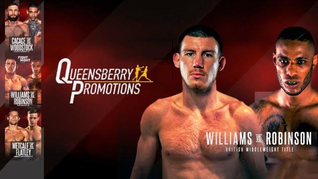 Liam Williams vs Andrew Robinson