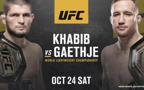 UFC 254 Live Stream Online