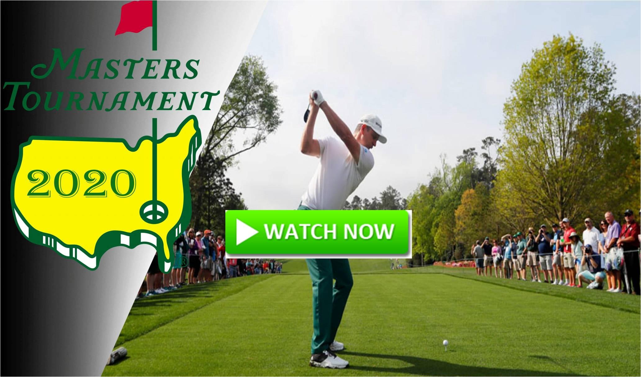 2020 Masters Golf Live
