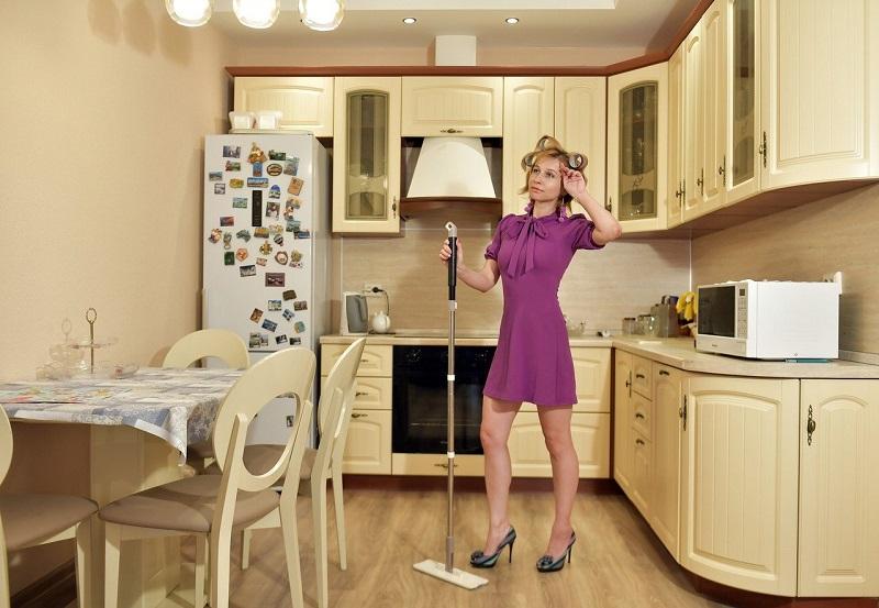 house clean.