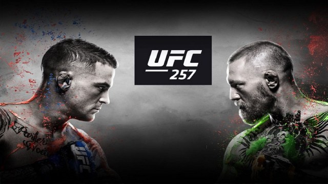 UFC 257 McGregor vs Poirier 2