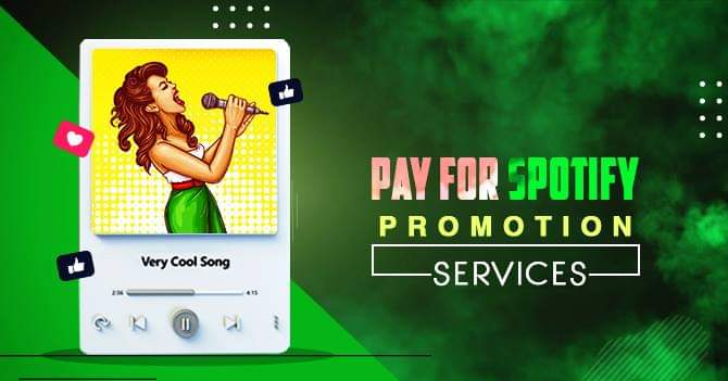Pay for Spotify Promotion