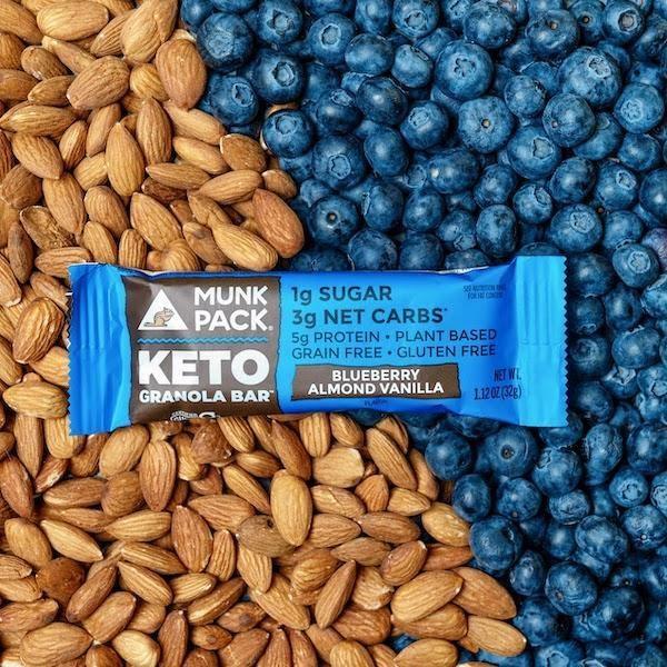best low sugar granola bars