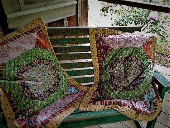 summer front porch by sheila gail landgraf