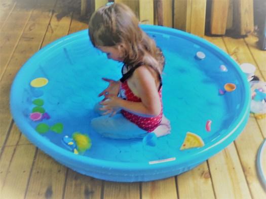 at the pool by sheila gail landgraf