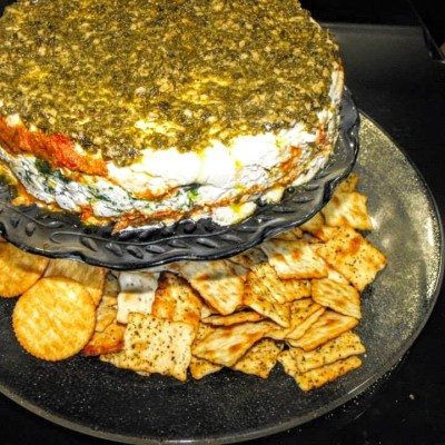 TOMATO AND SPINACH TORTE