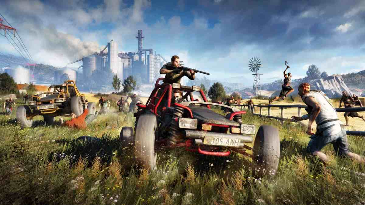 Dying Light PS4 Horror Games