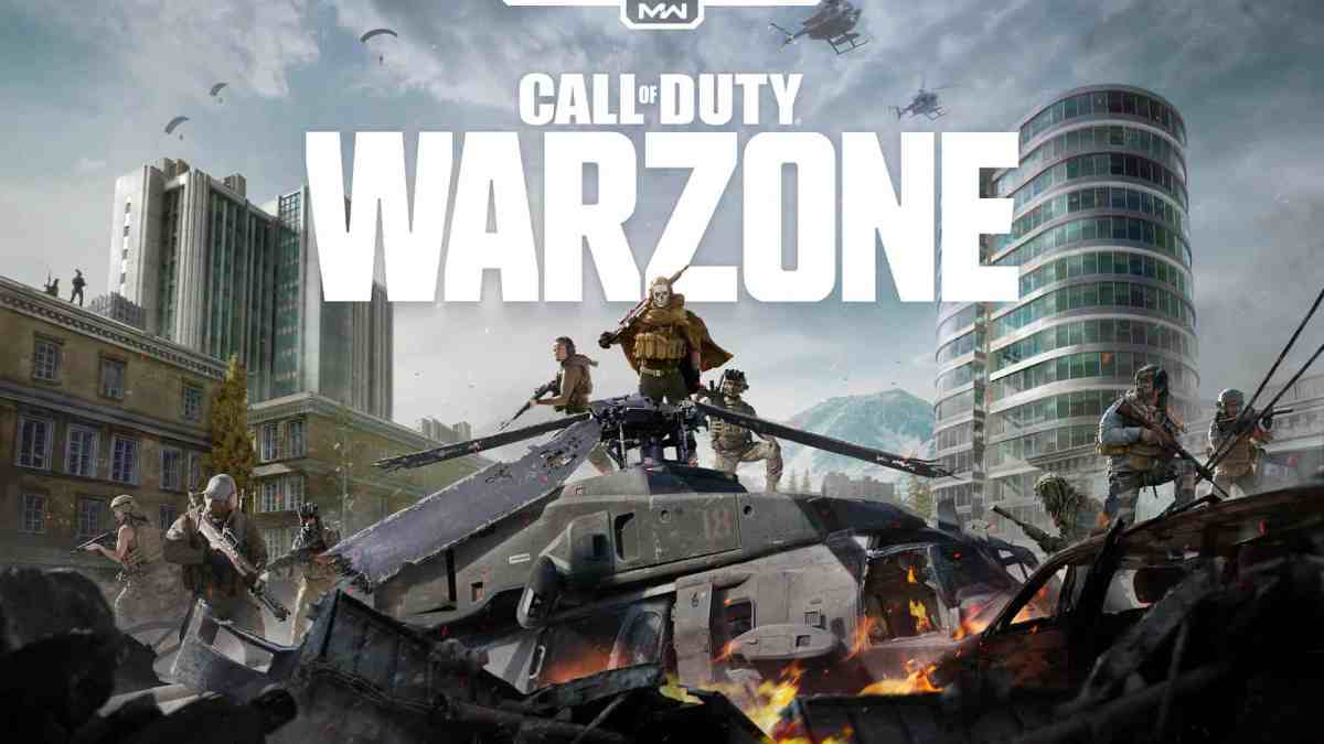 Call of Duty Warzone PS4 Multiplayer Games