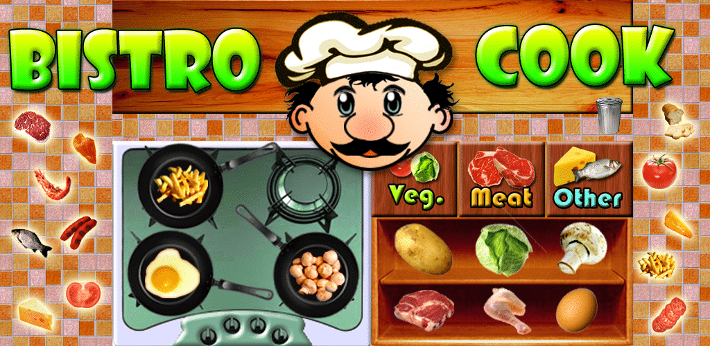 Bistro Cook Cooking Games for Girls