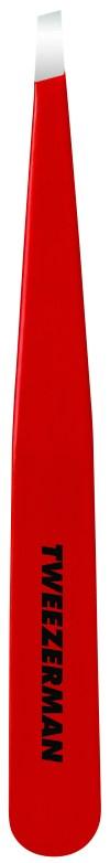 1230-RR Signature Red Slant Tweezer
