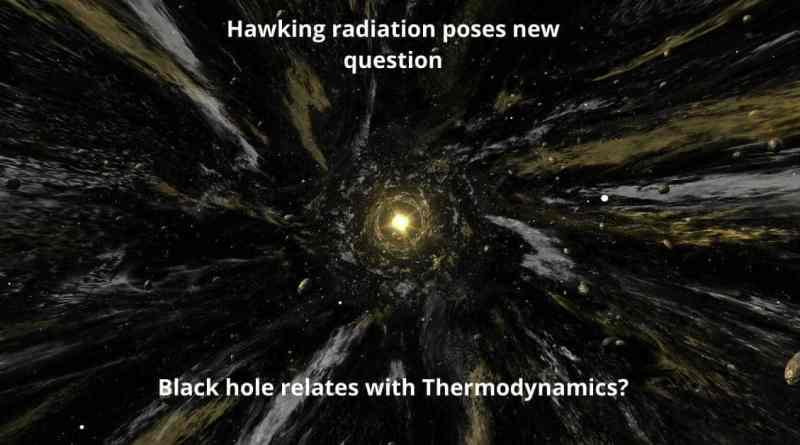 How Black hole relates with Thermodynamics