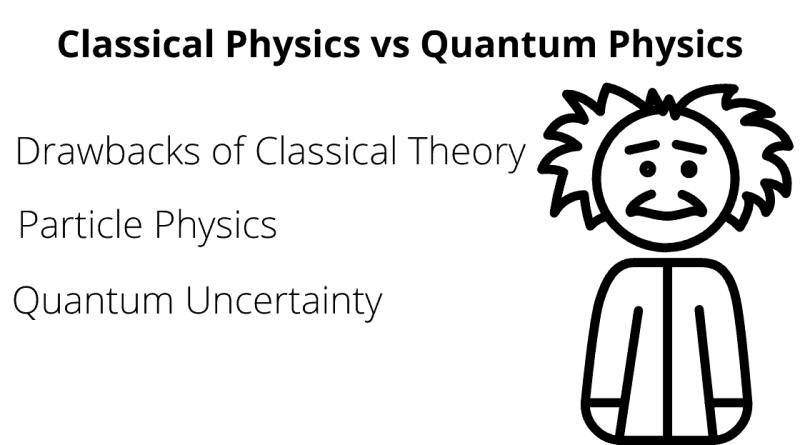 classical physics vs quantum