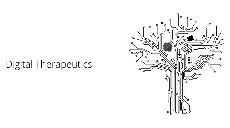 digital therapeutics today- Role, Market and Examples