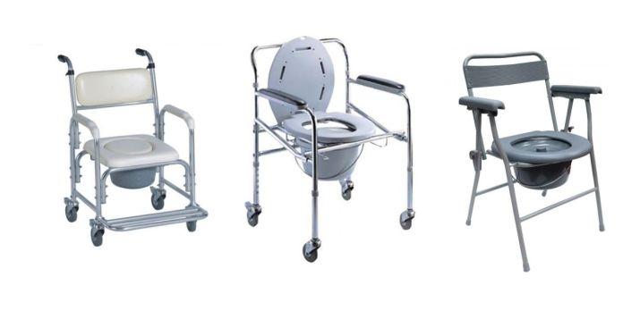 Kerusi roda untuk ke tandas atau mandi