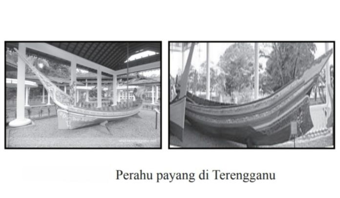 Perahu Payang di Terengganu