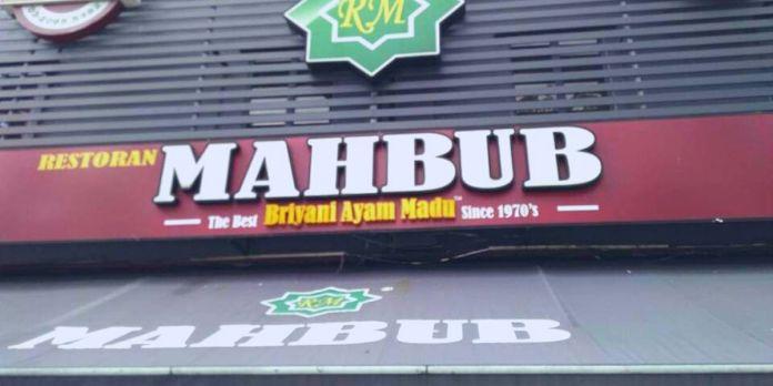 Restoran Mahbub Bangsar