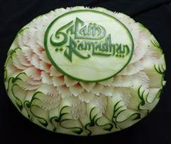 Ukiran Salam Ramadhan