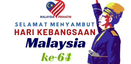Koleksi Pantun dan Ucapan Hari Merdeka Malaysia yang Ke-64 (2021)