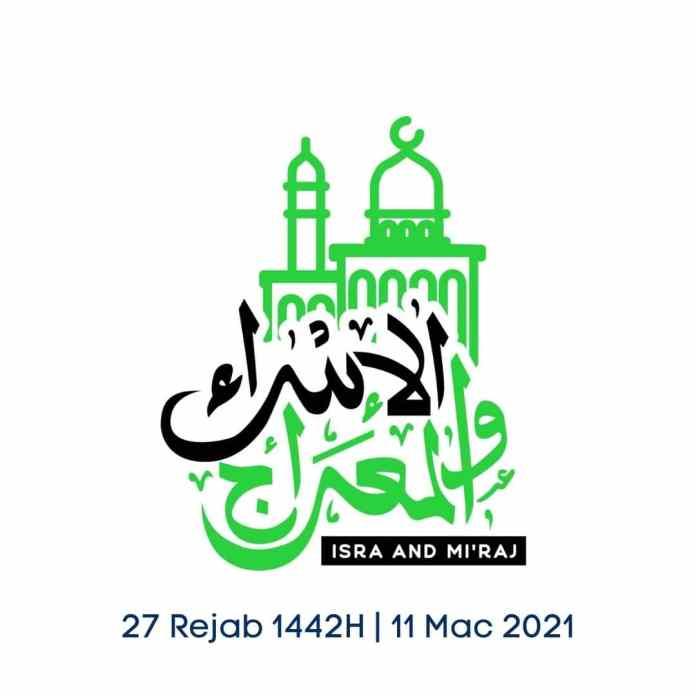 Poster Salam Israk Mikraj 2