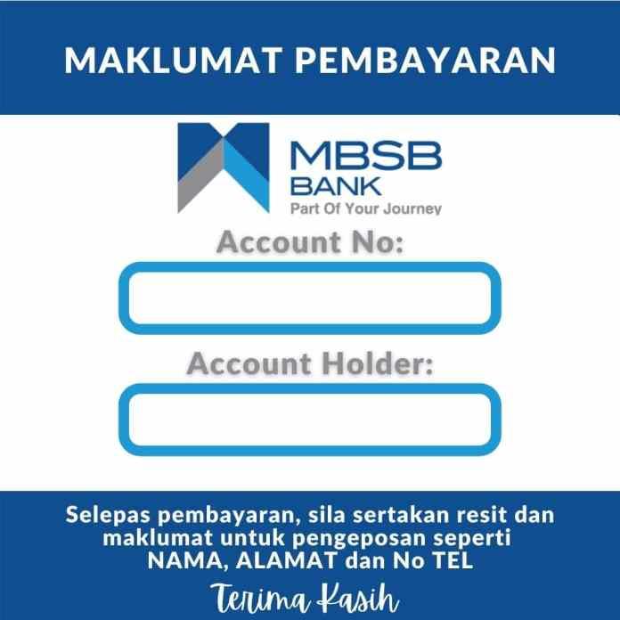 Template Akaun Bank MBSB