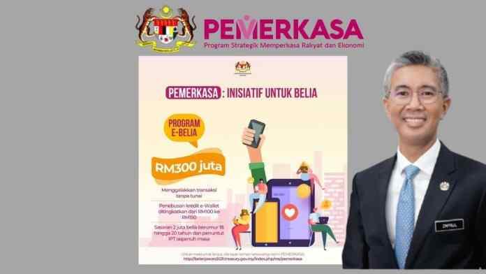 Semakan dan Syarat Penebusan RM150 eBelia Kredit Ewallet PEMERKASA