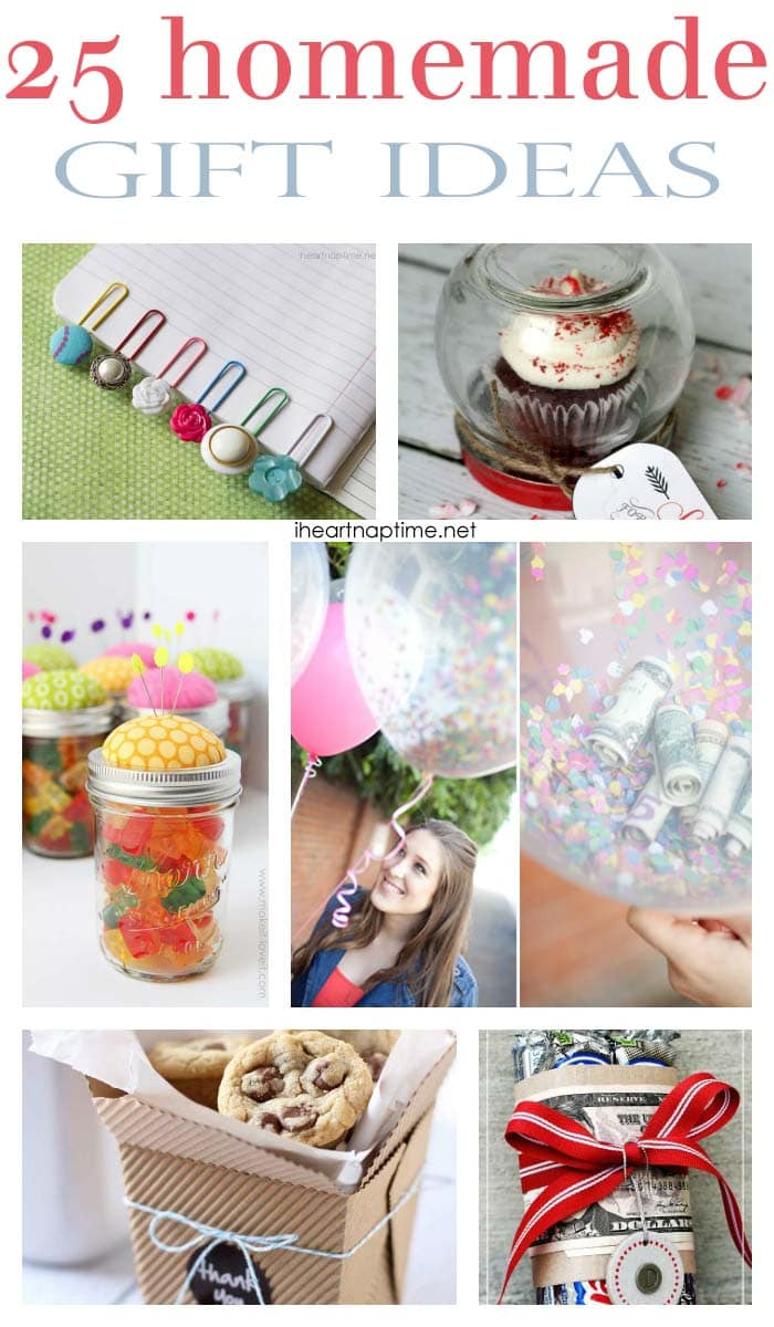 25 Fabulous Homemade Gifts The Inspiration Board
