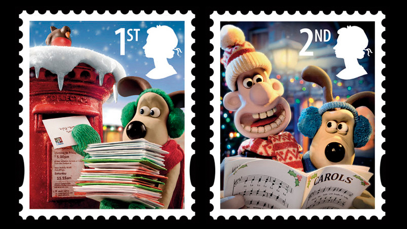 Royal Mail Wallace Amp Gromit Christmas Stamps The