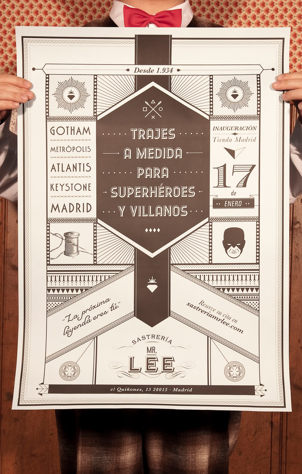 Mr Lee Tailor To Superheroes And Villains The