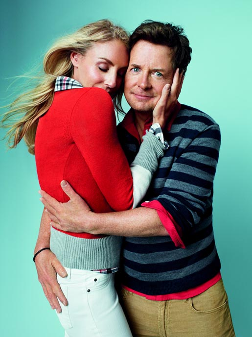 Gap Love comes in Every Shade Michael J Fox and Tracy Pollan