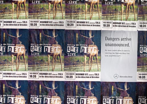 Mercedes Danger Deer posters