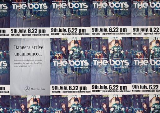 Mercedes Danger The Boys posters
