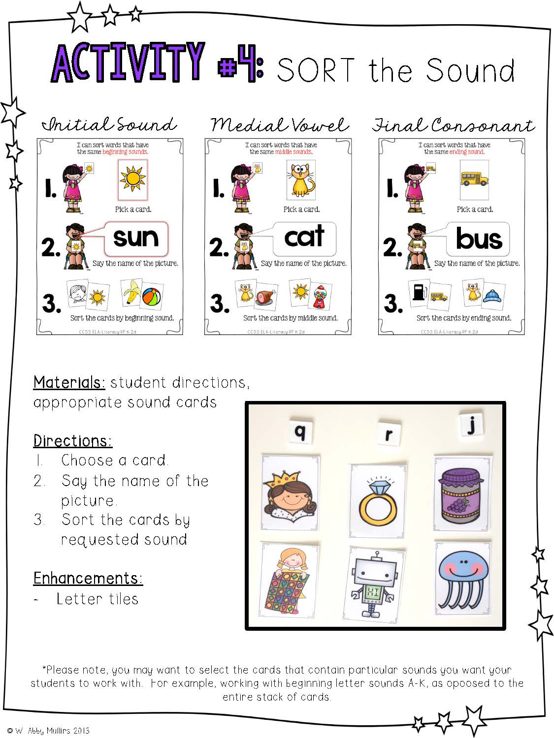 This Post Is Full Of Activities For Your Phonemic