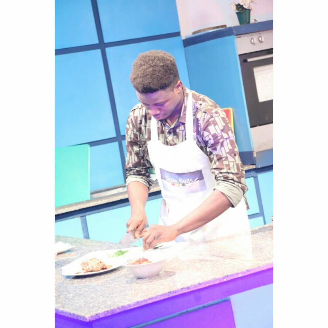 #WednesdayMotivation: Food Lovers get in here. Let Chef Ademola Adelaja of Demmy's Banquet give you a treat of a lifetime.