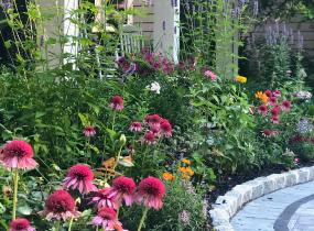 cottage garden example for client stories