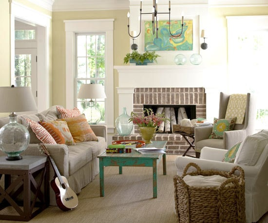 A Calm Home {While Decorating With Color & Pattern}