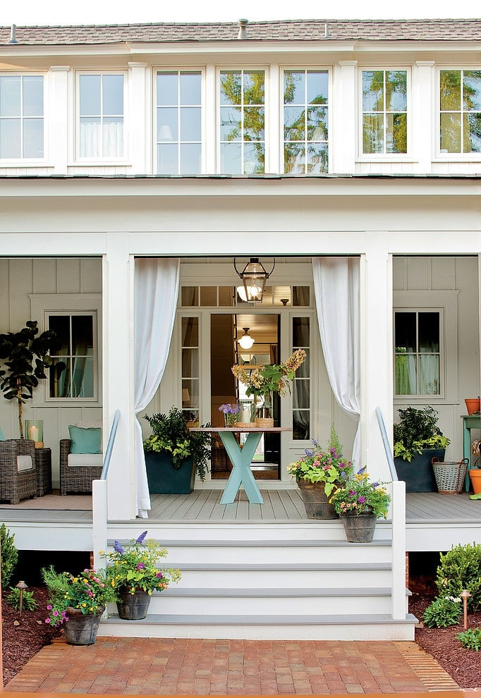 Dream Porch Farmhouse Style The Inspired Room