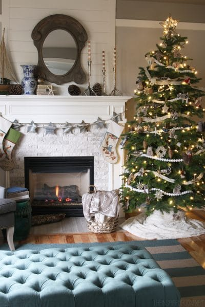 Forest and Sea Christmas - The Inspired Room House Tour