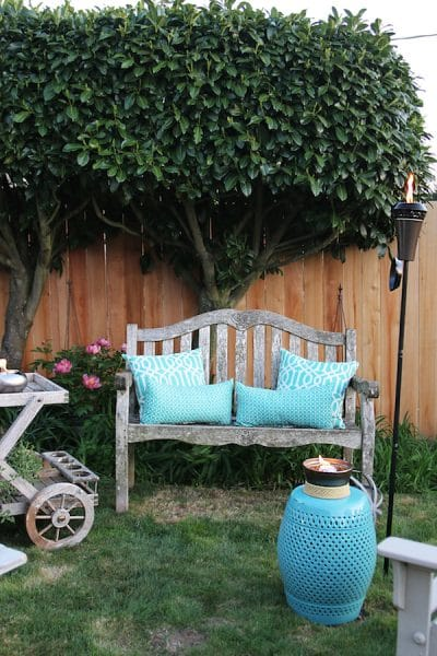 Outdoor Space - The Inspired Room - Tiki Torches
