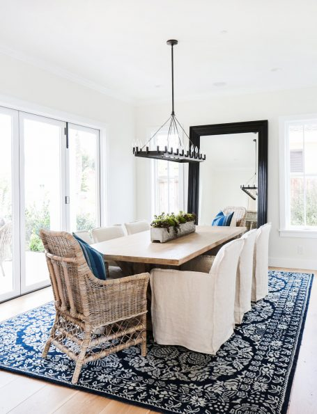 Blue and White Rug - blackband_design