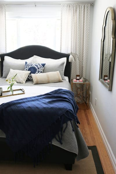 Small Bedroom Makeover - The Inspired Room blog