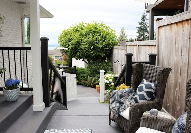 How To Paint Your Concrete Steps Or Patio The Inspired Room   Painting Outdoor Concrete Steps   Behr Premium   Epoxy   Front Porch   Deck   Slip Resistant