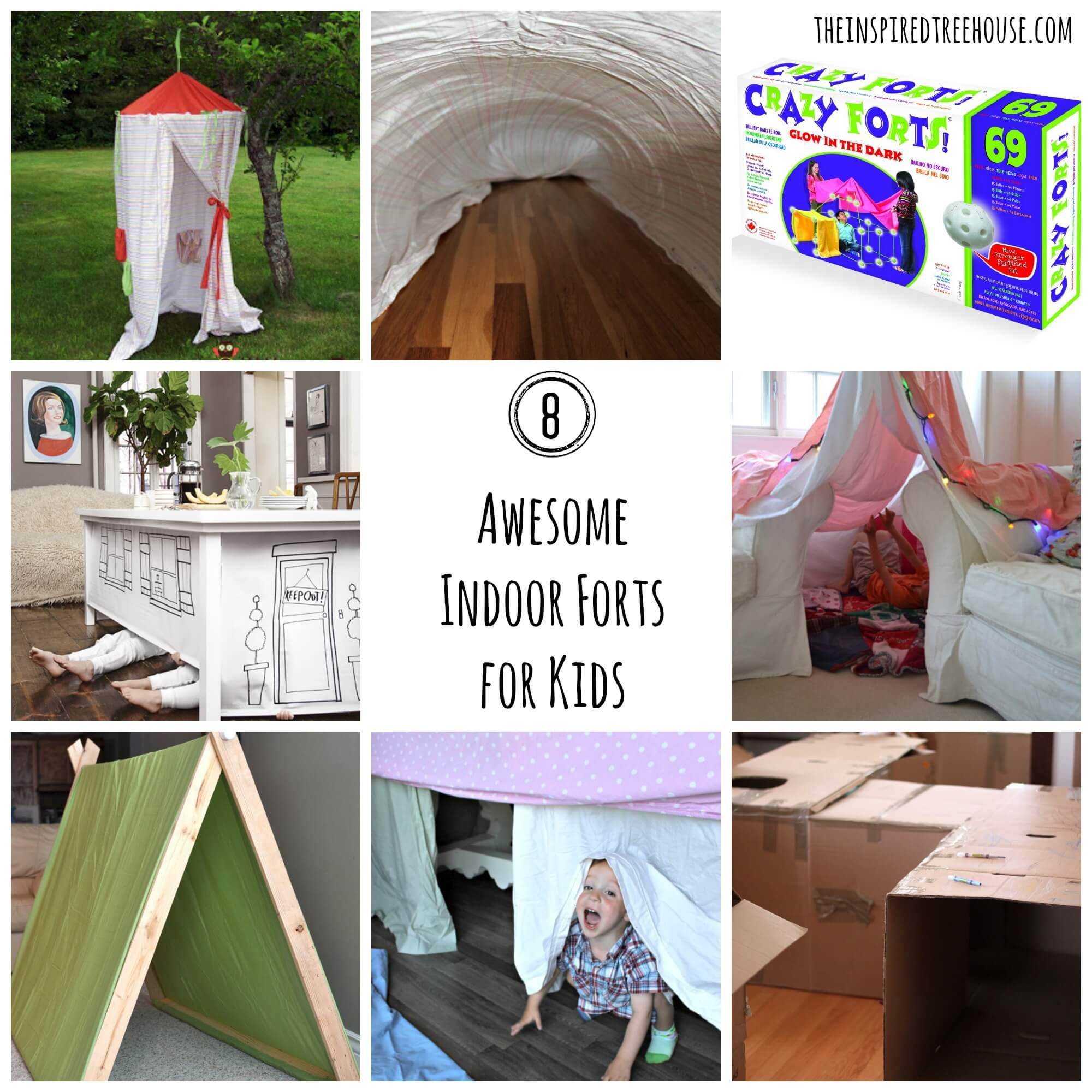 Activities For Kids 8 Awesome Indoor Fort Ideas