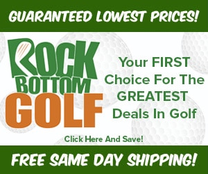 Discount Golf Store | Rock Bottom Golf