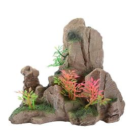 Graces Dawn Aquarium Fish Tank Pine Bark Stone Shape Landscaping Decoration