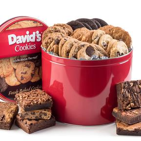 David's Cookies - Delicious Gourmet Brownies and Crumbcakes